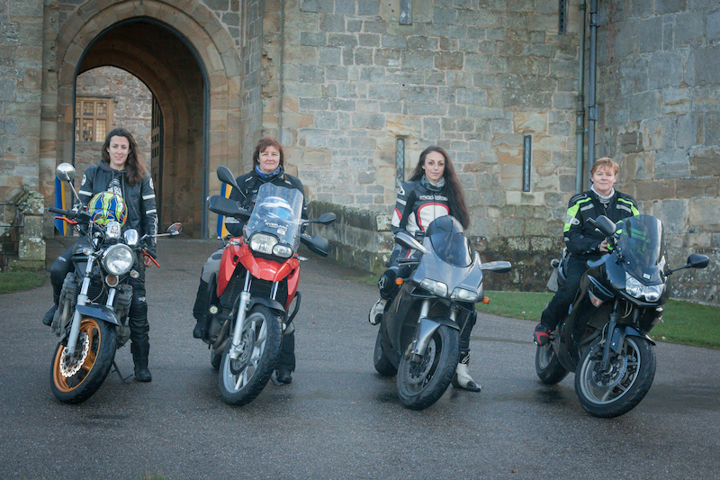 FIRST FEMALE MOTORBIKE RELAY ACROSS THE WORLD SETS OFF