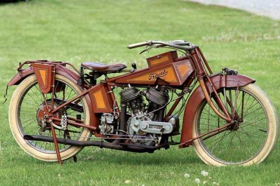 1916 – World's rarest motorcycle is invented