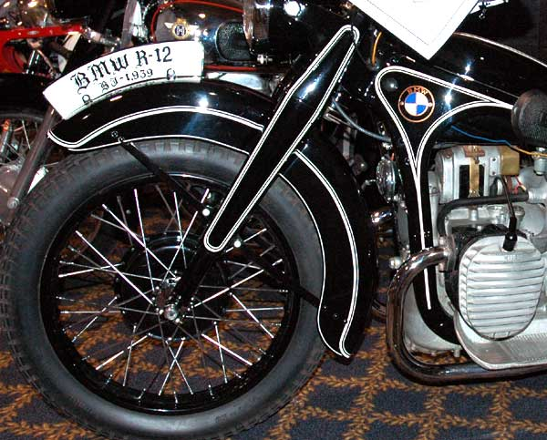 1935 – Hydraulic Suspension Forks invented