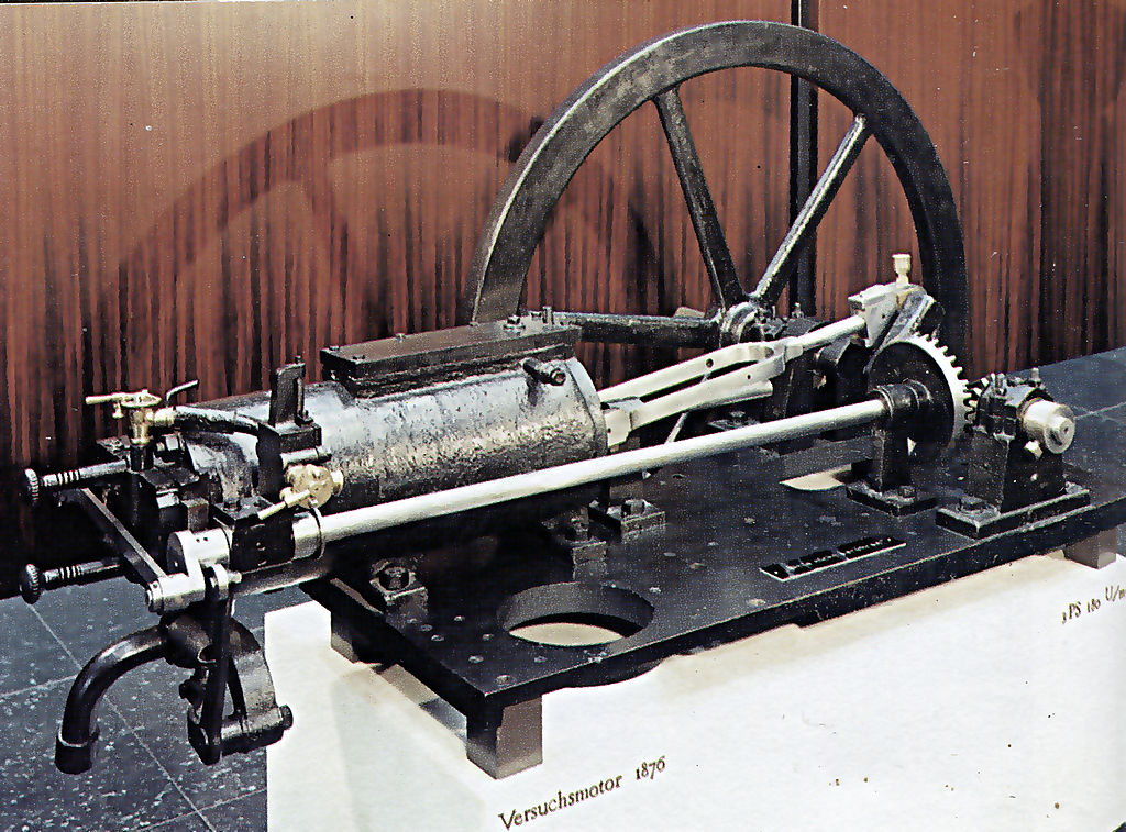1876 – First 4 stroke piston cycle internal combustion engine