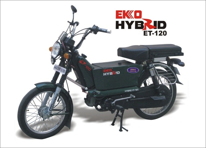 2009 – Worlds first Hybrid Motorcycle