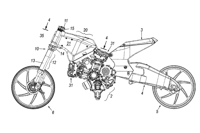 2012 – Frameless motorcycles invented